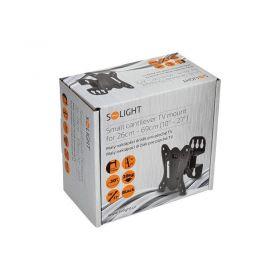 Solight malý naklápěcí držák pro ploché TV od 26cm - 69cm (10'' - 27'')