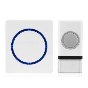 Solight bezdrátový zvonek, bateriový, 120m, bílý