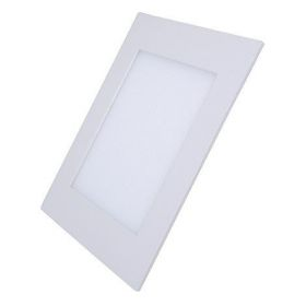 Solight LED mini panel, podhledový, 12W, 900lm, 4000K, tenký, čtvercový, bílý