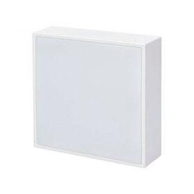Solight LED panel s tenkým rámečkem, 16W, 1280lm, 4000K, přisazený, čtvercový, bílý