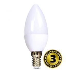 Solight LED žárovka, svíčka, 6W, E14, 6000K, 450lm