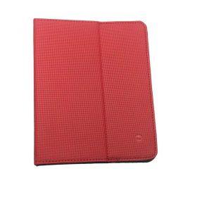 Solight univerzální pouzdro - desky z polyuretanu pro tablet nebo čtečku 8'', červené
