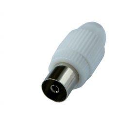 Solight anténní COAX zdířka přímá, 10ks, sáček