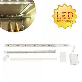 Bezdrátová LED lišta s detektorem pohybu 60 cm BG-F-00056