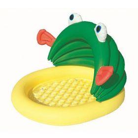 Dětský bazén žába se stříškou 107 x 104 x 71 cm