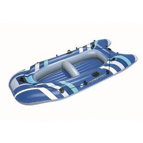 65060 Nafukovací raft X2 - 255 x 110 cm, modrý