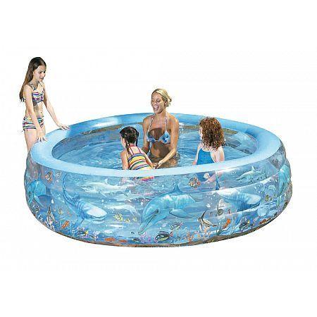51072 Bazén kruhový delfín 229 x 56 cm Bestway