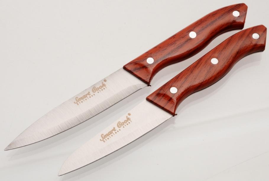 Sada 2 ks nožů na ovoce 10 + 12 cm Smart Cook