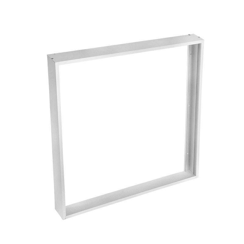 Solight hliníkový stříbrný rám pro instalace 595x595mm LED panelů na stropy a zdi, výška 50mm