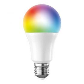 Solight LED SMART WIFI žárovka, klasický tvar, 10W, E27, RGB, 270°, 900lm