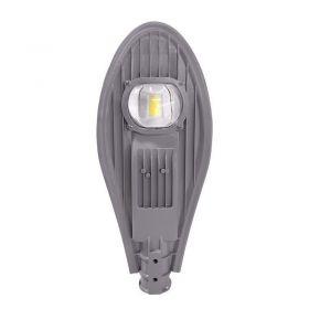 Solight street light COB, 30W, 3900lm, 4000K, 120°, Ra70, IP65, 85-265V, šedá