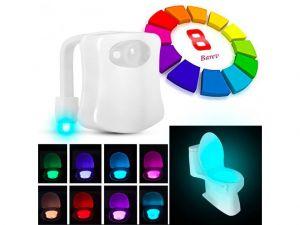 Noční LED světlo na toaletu s pohybovým senzorem P00647