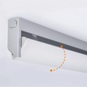 Solight LED kuchyňské svítidlo výklopné, vypínač, 10W, 4100K, 58cm