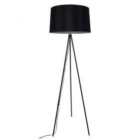 Solight stojací lampa Milano Tripod, trojnožka, 145 cm, E27, černá