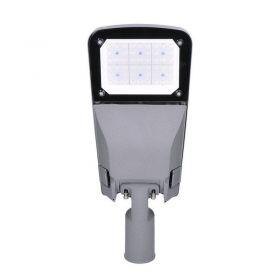 Solight street light SMD, 60W, 9000lm, Meanwell, 4000K, 120°, IP65, 110-240V, šedá