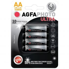 AgfaPhoto Ultra alkalická baterie LR06/AA, 4ks