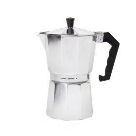 Kafetier hliníkový espresso maker Kávovar 9 šálků alu