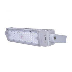 Solight LED venkovní reflektor Pro+2, 50W, 6500lm, 5000K, IP65 šedá