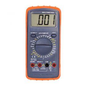 Solight multimetr, max. AC 600V/10A, max. DC 600V/10A, test diody, bzučák, hFE, kapacita, odpor