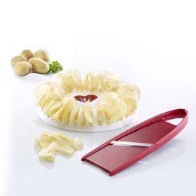 2 dílná sada na výrobu křupek v mikrovlnné troubě - Crunchy