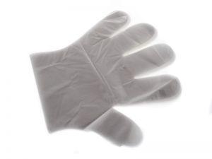 Jednorázové igelitové rukavice 100 ks