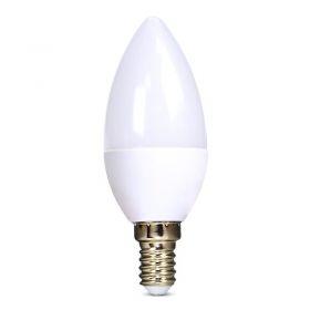 Solight LED žárovka, svíčka, 6W, E14, 4000K, 510lm