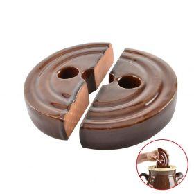 Těžítko keramické do sudu na zelí - zeláku 22 cm