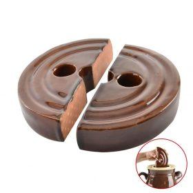 Těžítko keramické do sudu na zelí - zeláku 24 cm