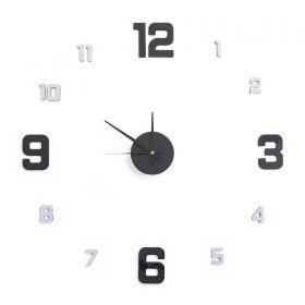 Samolepící hodiny G21 Metallic Style