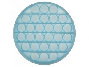 Pop it GMEX - kruh svítící ve tmě modrý