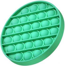 Pop it  - Fidgetová antistresová hra - zelený kruh GMEX