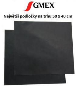 Teflonová podložka na gril a do trouby - Podložky grilovací GMEX 50x40 cm 2ks