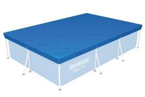58105 Krycí plachta na bazén Steel Pro 2,59 x 1,7 m