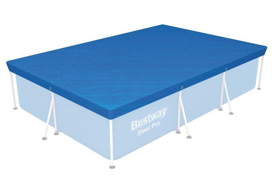58105 Krycí plachta na bazén Steel Pro 2,59 x 1,7 m, samostatně Bestway