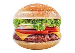 58780 Nafukovací ostrov hamburger 145 x 142 cm