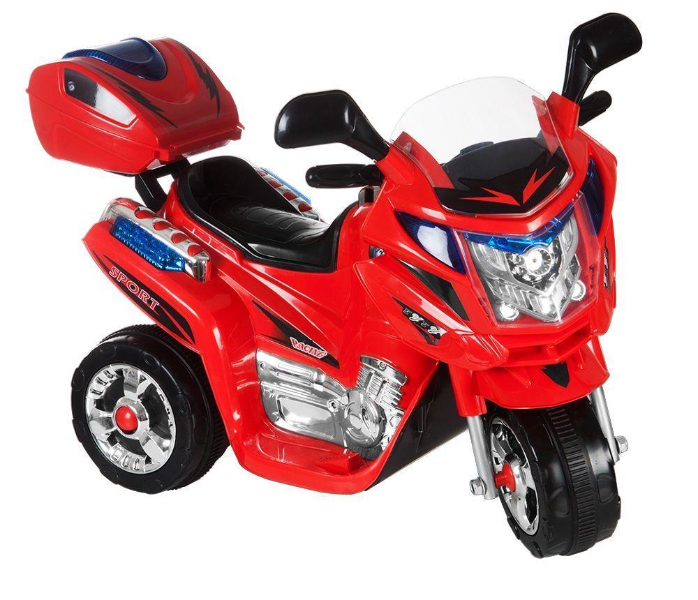 Dětská motorka Rallye, s adaptérem Kids World