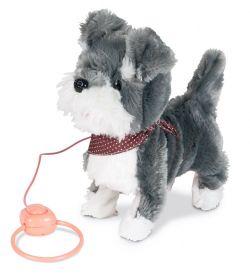 Interaktivní štěně s vodítkem JX-1422, samostatně | hnědá, růžová