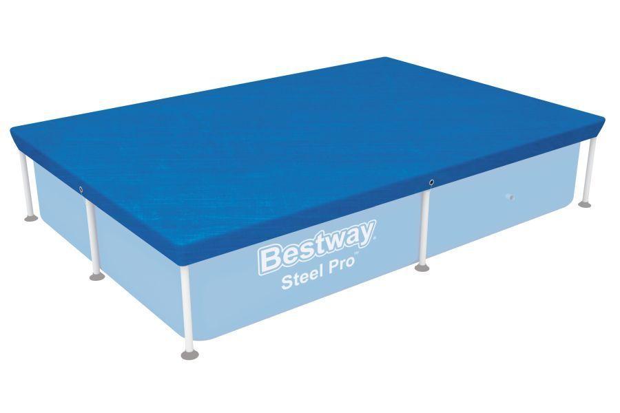 58103 Krycí plachta na bazén Steel Pro 2,21 x 1,5 m Bestway