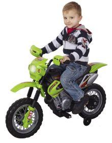 Dětská motorka Enduro | červená, zelená, žlutá