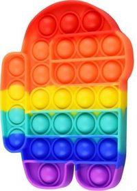 Pop it GMEX - duha rainbow robot Among Us