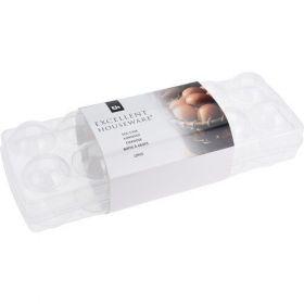 Box na 12ks vajec UH uzavíratelný 27x9,5x7,5 - Dóza na vajíčka